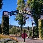 Photo taken at Francis Ford Coppola Winery by Stacey L. on 10/23/2011