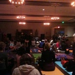 Photo taken at Yoga Fest 11-11-11 by Nathan B. on 11/12/2011