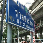 Photo taken at แยกราชประสงค์ (Ratchaprasong Intersection) by KNO3 :D on 6/10/2012