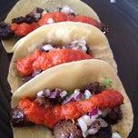 Photo taken at Vatos Urban Tacos by Hyunwoo N. on 5/1/2012