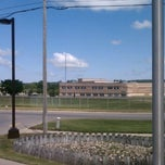 Photo taken at Boyne City High School by Tad W. on 7/7/2012