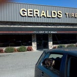 Photo taken at Geralds Tires and Brakes by Shaunna a. on 2/28/2012
