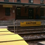 Photo taken at SEPTA Moylan-Rose Valley Station by Matthew P. on 7/15/2012