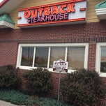 Photo taken at Outback Steakhouse by Martin M. on 7/9/2012