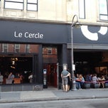 Photo taken at Le Cercle by Brigitte S. on 7/28/2012