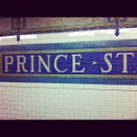 Photo taken at MTA Subway - Prince St (N/R) by Chris F. on 10/15/2011