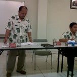 Photo taken at Ruang Meeting Plant Lantai 3 JCI Gedangan by Ganet D. on 4/4/2012