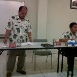 Photo taken at Ruang Meeting Plant Lantai 3 JCI Gedangan by Ganet D. on 4/4/2012