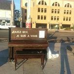 Photo taken at Uptown Piano by Karen C. on 7/25/2012