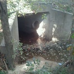Photo taken at A Tunnel Under Eastchester Dr. by Ryan S. on 10/1/2011