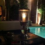 Photo taken at Riad Noir d'Ivoire by joanna c. on 9/30/2011