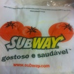 Photo taken at Subway by Leticia I. on 3/25/2012