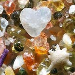 Photo taken at Sea Glass Beach by Mott K. on 2/15/2012