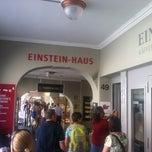 Photo taken at Einstein-Haus by johnpsom ⛵. on 8/14/2012