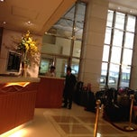 Photo taken at The Wharney Guang Dong Hotel Hong Kong 香港華美粵海酒店 by Yongyoot T. on 3/18/2012