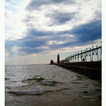 Photo taken at Grand Haven State Park by Matthew M. on 8/20/2011