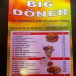Photo taken at Big-Döner by Jan W. on 1/25/2012