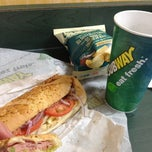Photo taken at Subway by Snowden Z. on 4/9/2012