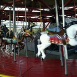 Photo taken at Greenport Antique Carousel by Jimmy T. on 11/20/2011
