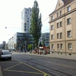 Photo taken at Skácelova (tram, bus) by Jaroslav R. on 7/4/2012