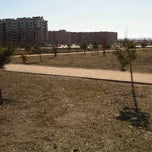 Photo taken at Parque de las suertes by Enrique F. on 1/22/2012