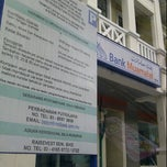 Photo taken at Bank Muamalat Presint Diplomatik Presint 14 Putrajaya by Ema on 1/22/2012