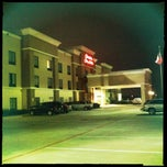 Photo taken at Hampton Inn & Suites Houston Rosenberg by Shad on 1/1/2012
