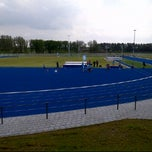Photo taken at Bijlmer Sportpark by Ibrahim on 5/19/2012