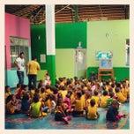 Photo taken at Escola Municipal Aurea Cação by Ulisses S. on 4/11/2012