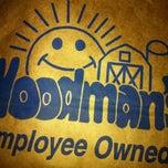 Photo taken at Woodman's Food Market by Justin C. on 3/20/2012