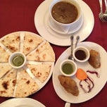 Photo taken at Sona Indian Cusine by Lidia P. on 7/8/2012