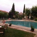 Photo taken at Hotel Parador de Almagro by Cruz Maria Z. on 8/19/2012