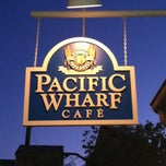 Photo taken at Pacific Wharf Café by Patrick B. on 6/25/2012