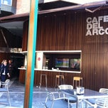 Photo taken at Café del Arco by Javier M. on 3/10/2012