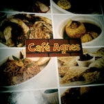 Photo taken at Cafe Agnes by Chawz B. on 6/23/2011