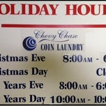 Photo taken at Chevy Chase Coin Laundry by Chevy Chase Coin Laundry on 12/19/2011