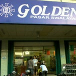 Photo taken at Golden Pasar Swalayan by Ferry M. on 11/6/2011