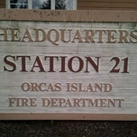 Photo taken at Orcas Island Fire Department St #21 by C.J. A. on 7/17/2011