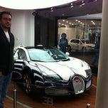 Photo taken at Bugatti | Automobil Forum Unter den Linden by Hakan™ on 10/27/2011