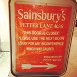 Photo taken at Sainsbury's Local by Simba C. on 8/8/2012