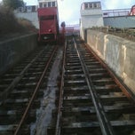Photo taken at Folkestone Leas Lift clc by Kim G. on 9/3/2011
