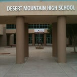 Photo taken at Desert Mountain High School by Phil A. on 2/17/2012