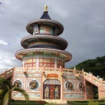 Photo taken at วัดถาวรวราราม (วัดญวน) Wat Thavornwararam by jib jib Thicha on 8/25/2012