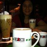 Photo taken at Cup & Cino Coffee House by Dowiz on 6/11/2011
