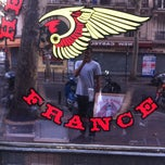 Photo taken at Hells Angels Paris by gaïton on 8/20/2012