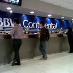 Photo taken at BBVA Continental by Katia J. on 11/25/2011