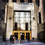 Photo taken at New York City Criminal Court by Pee W. on 3/29/2012