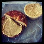 Photo taken at Bagels Plus by Jason P. on 2/25/2012