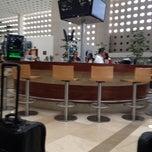Photo taken at Salón Premier Aeromexico by Constanza F. on 5/12/2012
