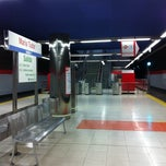 Photo taken at Metro María Tudor by Ana P. on 7/24/2011